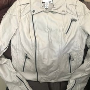 Brand New Faux leather jacket